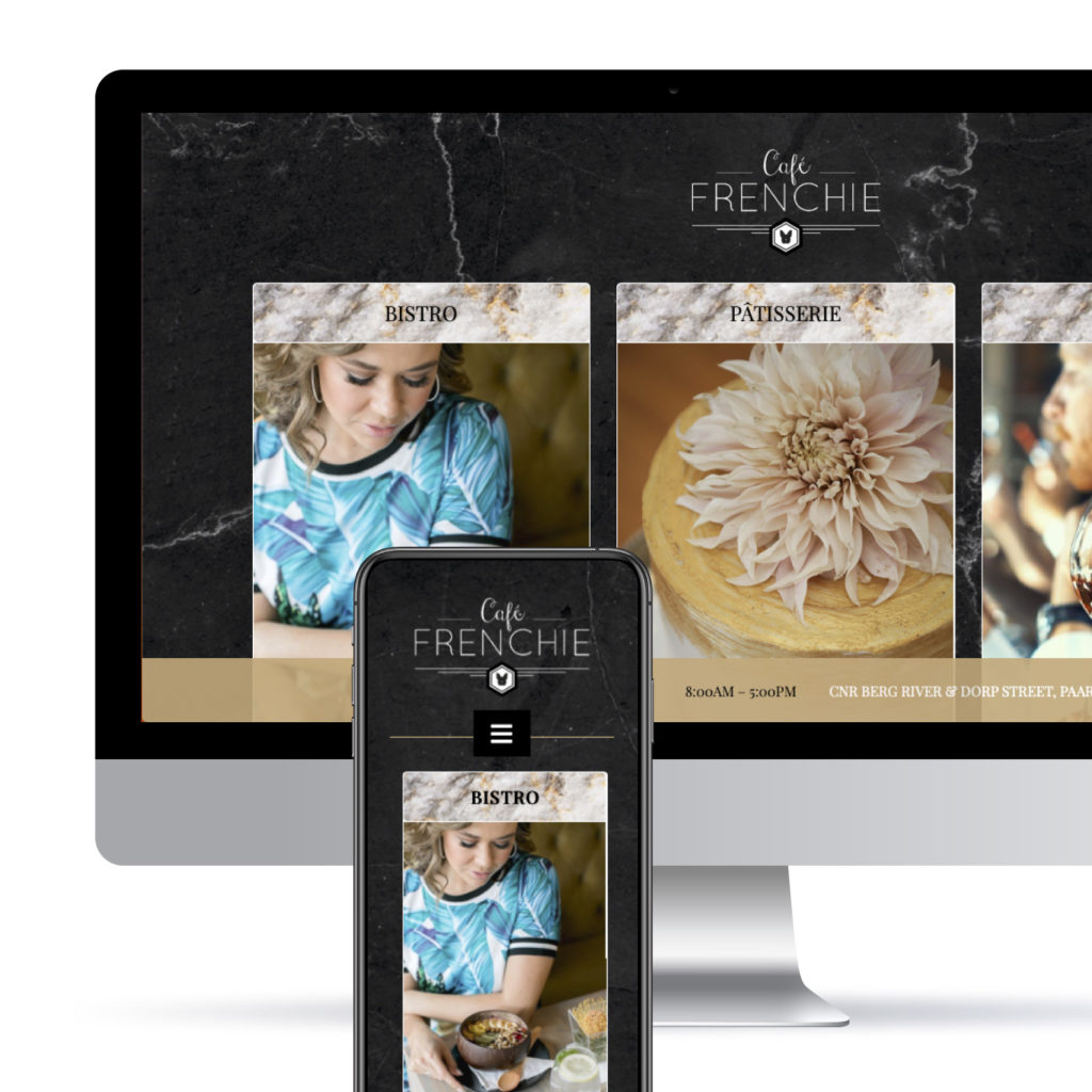 Cafe Frenchie website
